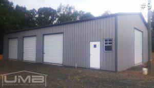 3 Car Garages | Universal Metal Buildings