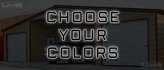 choose the color of your metal building - Universal Metal Buildings
