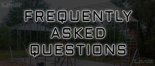 frequently asked questions about metal buildings - Universal Metal Buildings