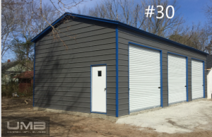 3 Car Garages | Universal Metal Buildings